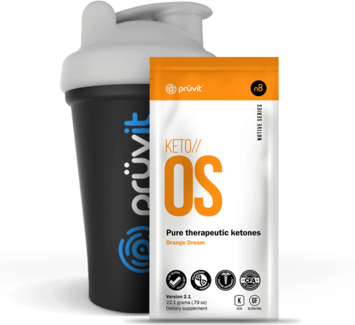 Pruvit Keto OS Orange Dream Exogenous Ketones