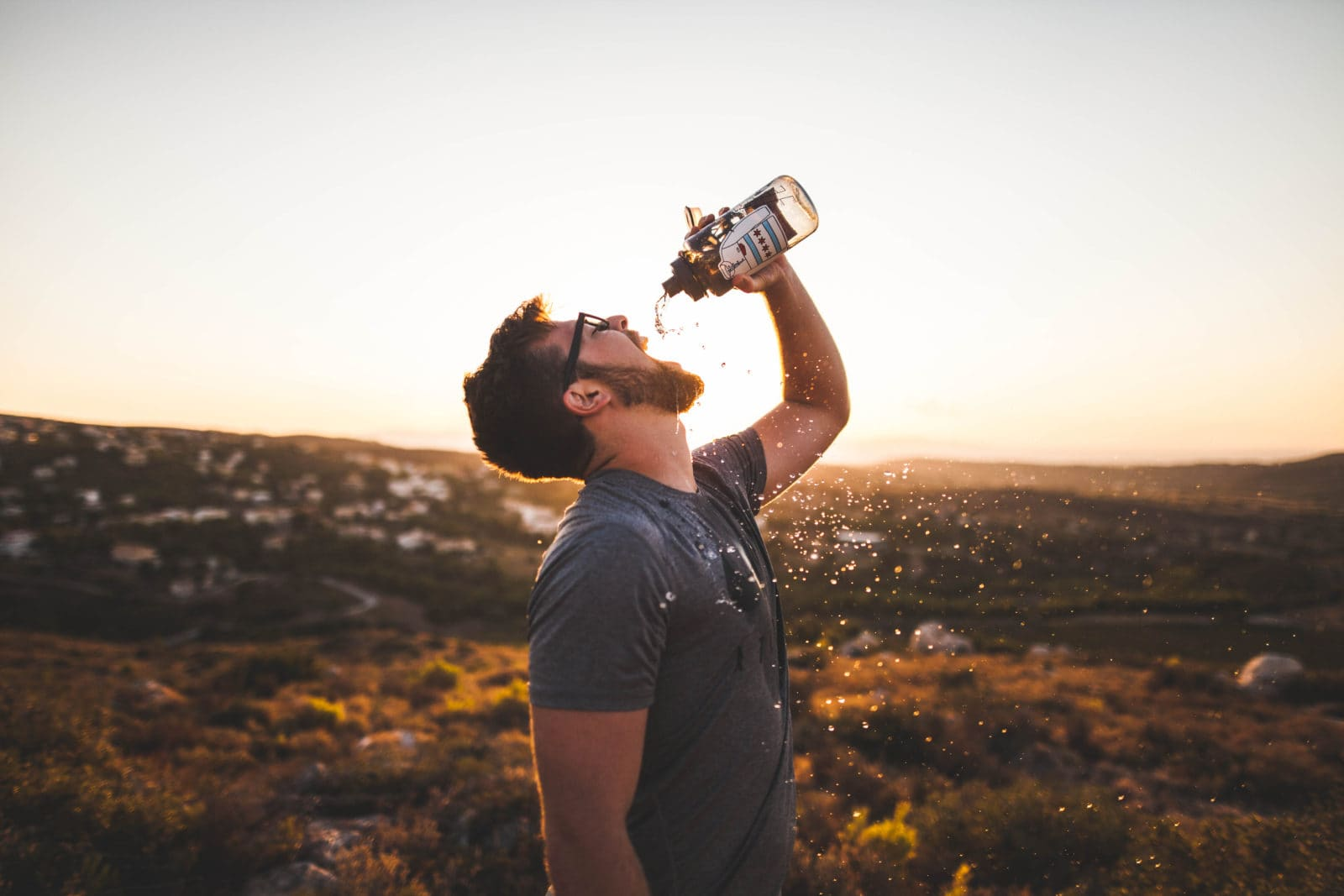 You will find yourself feeling thirsty on the ketogenic diet! This is because your body processes minerals differently once you are in ketosis; As your body is detoxing, you rapidly eliminate sodium, which also lowers your potassium and magnesium from the body.