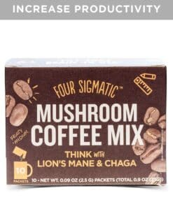 Four Sigmatic Mushroom Coffee Mix Think With Lion's Mane & Chaga