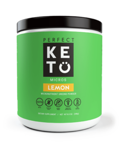 Perfect Keto Greens Lemon