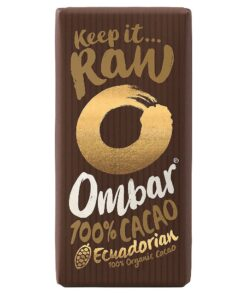 Ombar Raw Dark Chocolate