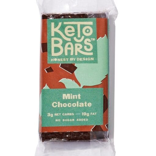 Keto Bars Mint Chocolate