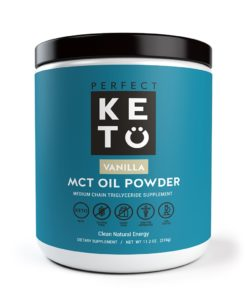 Perfect Keto Vanilla MCT Oil