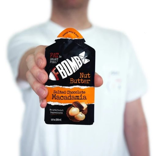 fbomb nut butter keto supplements