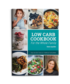 low carb family recipes guide sara aguilar keto supplements uk