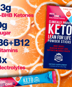real ketones prime orange
