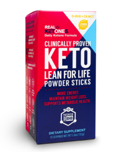 real ketones lemon twist sachets keto supplement uk
